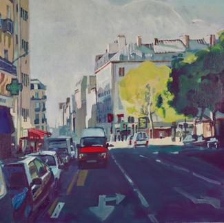 Belleville - Marc GOLDSTAIN 1998 - Oil On Canvas - Paris - 50X65Cm