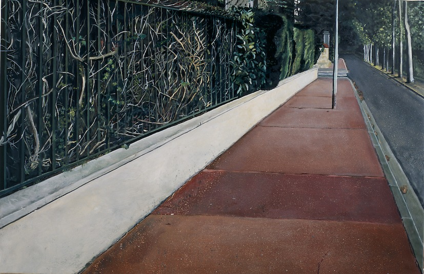 Trottoir rouge 2005
