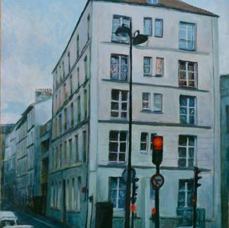 Vaucouleur Street - Marc GOLDSTAIN 1997 - Oil On Canvas - Paris - 146X114Cm