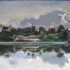 Pampulha lake- acryl on canvas- belo horizonte-brasil-painting landscape-achitecture.jpg