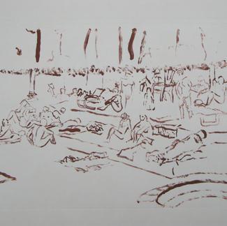 Heliomonde Lines - Marc GOLDSTAIN 2014