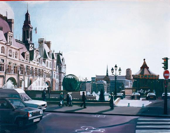 L'hotel-de-ville, Paris 1999