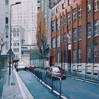School Fortin Street - Marc GOLDSTAIN 1998 - Oil On Canvas About - 81X100Cm