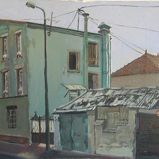 St Maur 8 - Marc GOLDSTAIN 1992 1993 - Oil On Canvas - Urban Landscape