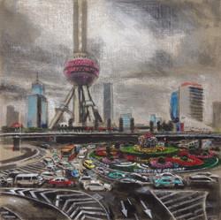 traffic perle de l'orient Shanghai