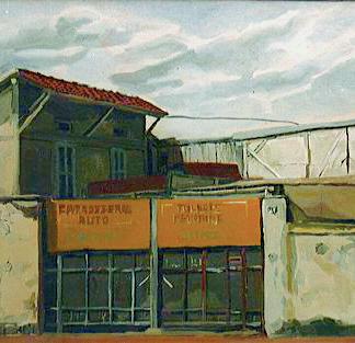 St Maur 11 - Marc GOLDSTAIN 1992 1993 - Oil On Canvas - Urban Landscape