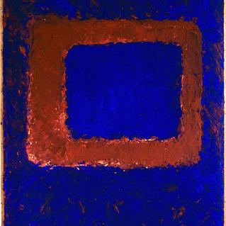 From Serie Square Red - Marc GOLDSTAIN 1994 1997 - Mixt Technic On Panel