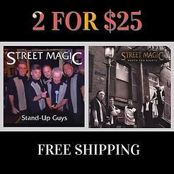 Street Magic Acappella-2 for 25