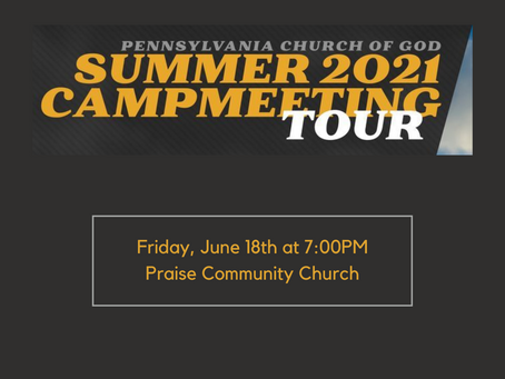 Church of God Campmeeting - June 18th