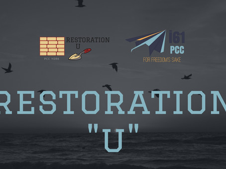 restoration U 'It's for freedom's sake that christ set us free'