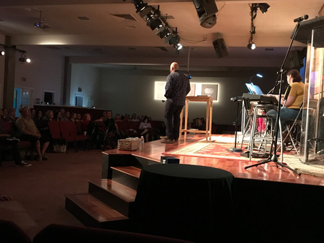 5.31.2018 - Holy Spirit Night - Pastor Brian Connolly