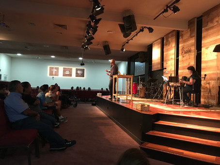 5.24.2018 - 'The Father's Love' pastor Brian Connolly