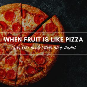 FLB Intern Blog: Rachel | When Fruit is Like Pizza