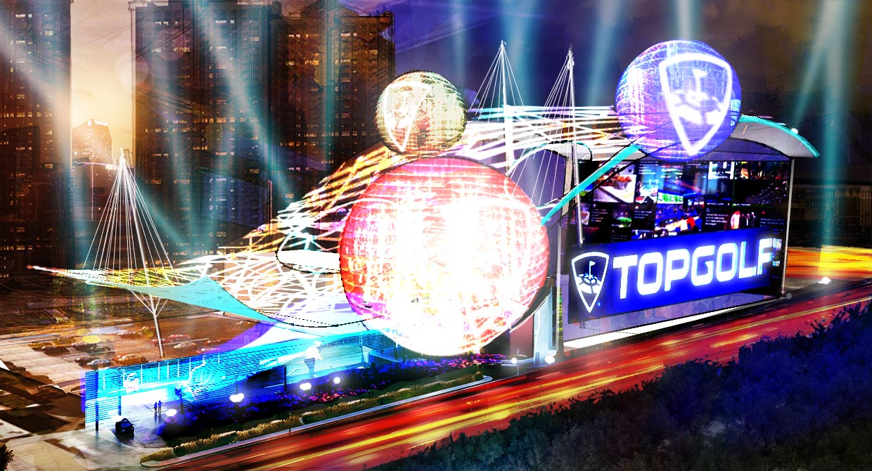 TopGolf Las Vegas Concept