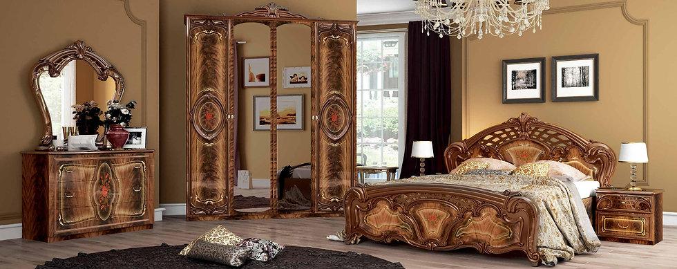 Schlafzimmer Set Regina Nut