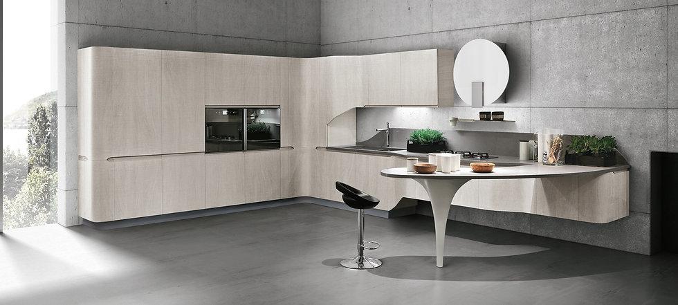 Moderne Küche Bring1  ohne oder mit Geräten