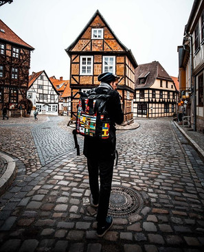 Another from Quedlinburg! This little ar