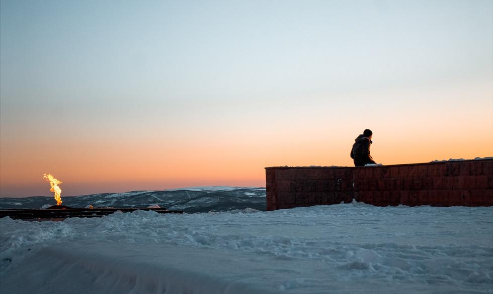 Sunset in Murmansk
