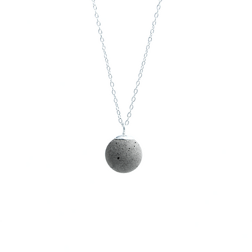 Moon Concrete Necklace | Galaxy Series
