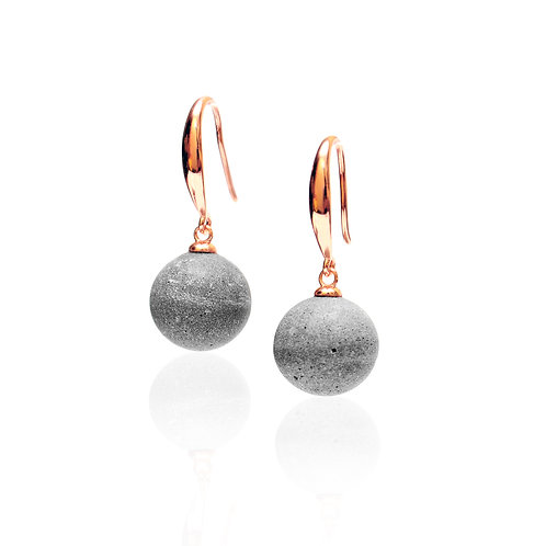 Moon Hanging Earring (Silver / Gold / Rose Gold) | Galaxy Series