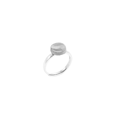 Round Concrete Ring | Clash Series