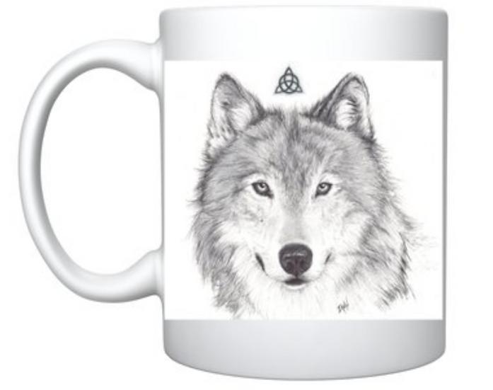Mugs loup / pégase