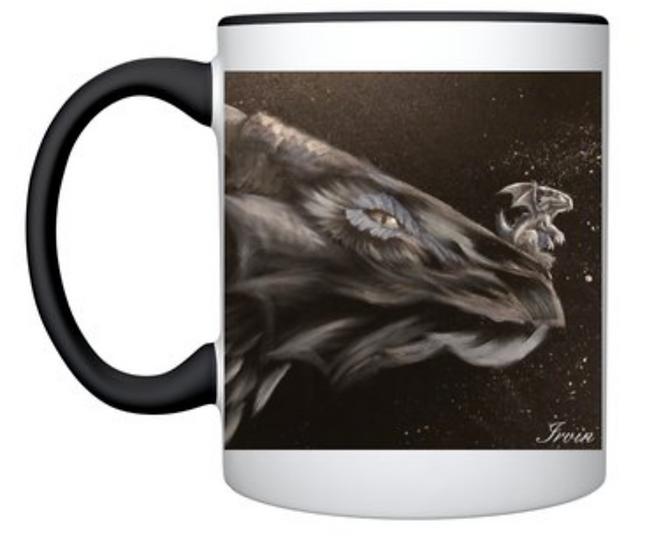 Mug imprimé dragons