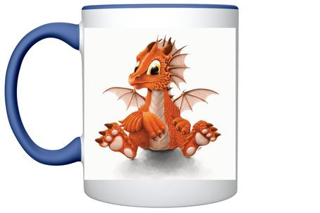 Mug (fond bleu)