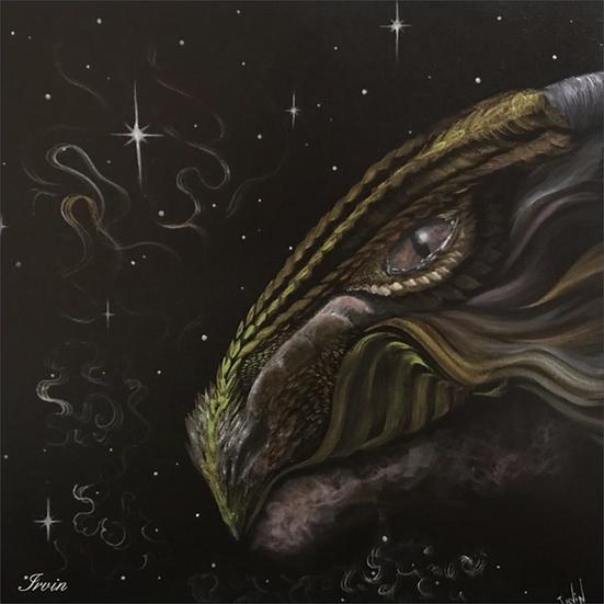 Carte Tête de dragon