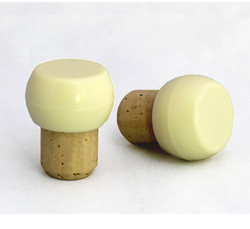 Stock Bar Top - Cream Plastic Bulb