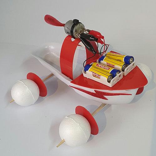 Pacote Barco-carro + aula virtual