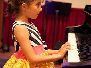 First Piano Recital for Whysper Stephenson 2016