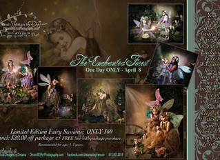 Enchanted Forest Fairy Sessions One Day ONLY