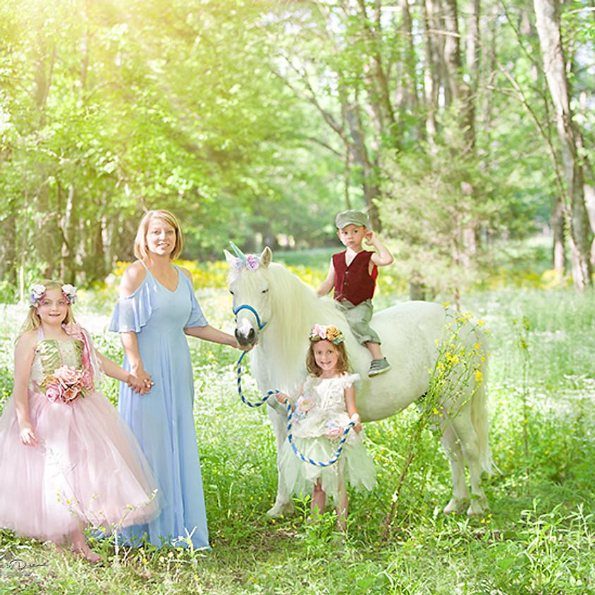 Unicorn Fairy Tale Portraits