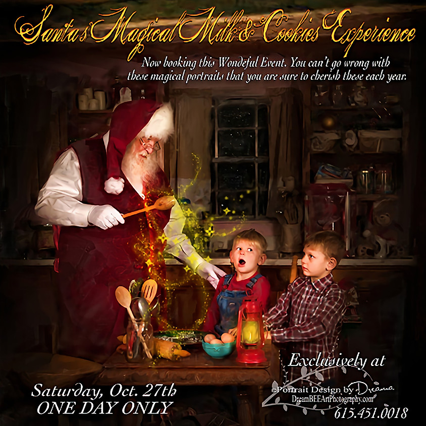 Santa's Magical Milk & Cookies EXPERIENCE exclusively by DSP