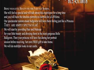 PRINCESS BELLE (Beauty & the Beast) Portraits - Fairytale Photography
