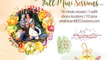 Fall Mini's Now Booking