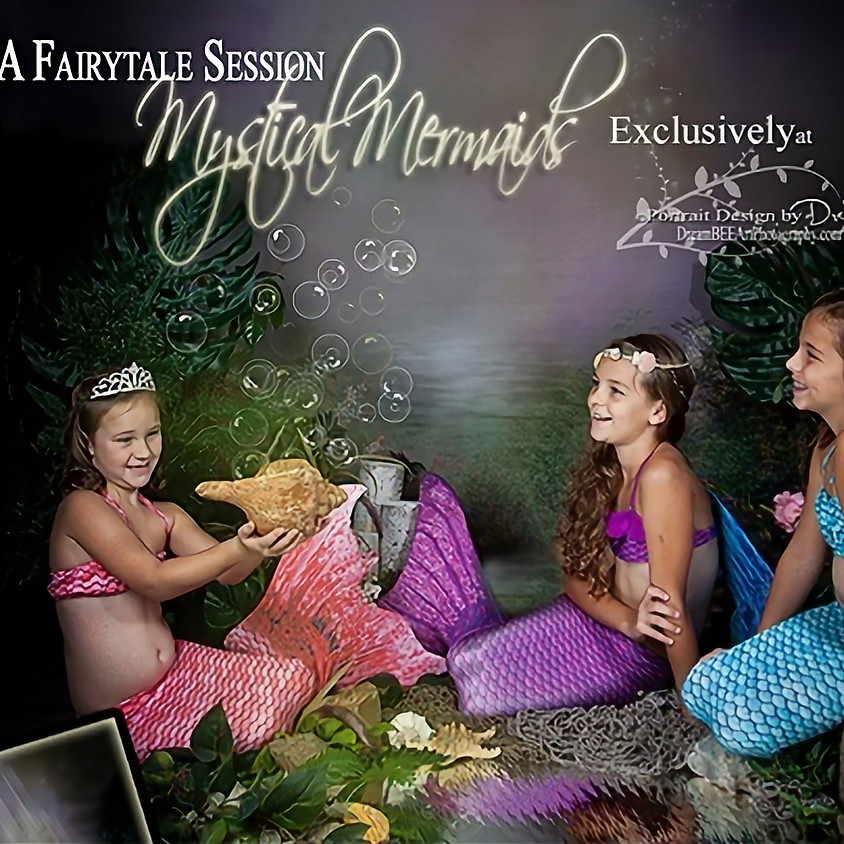 Mystical Mermaid Fairy Tale Sessions Sept. 22-28, 2019
