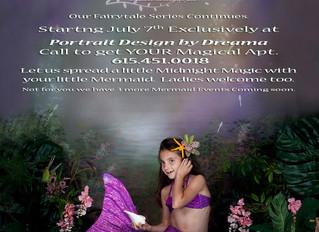 Mystical Mermaid Portraits Session