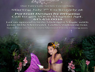 Mystical Mermaid Portraits Session