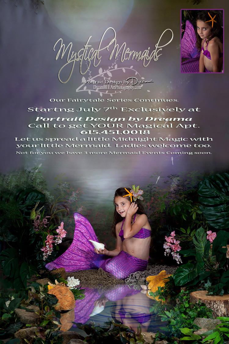 Mermaid Photography, Mermaid Photographer, Fairytale Photography, Child Photography