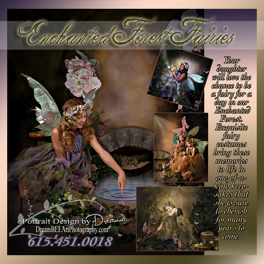 Enchanted Forest FAIRY 4 Your Valentine