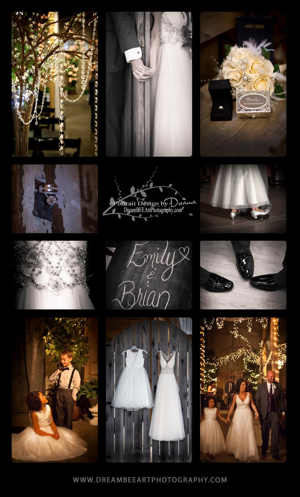 Brooks + Webster Storybook Wedding, Epic Event Center, Portrait Design by Dreama