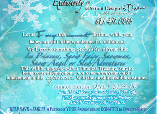 Winter Wonderland Sessions to Save a Smile