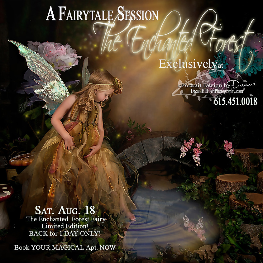 The Enchanted Forest FAIRY Limited Edition