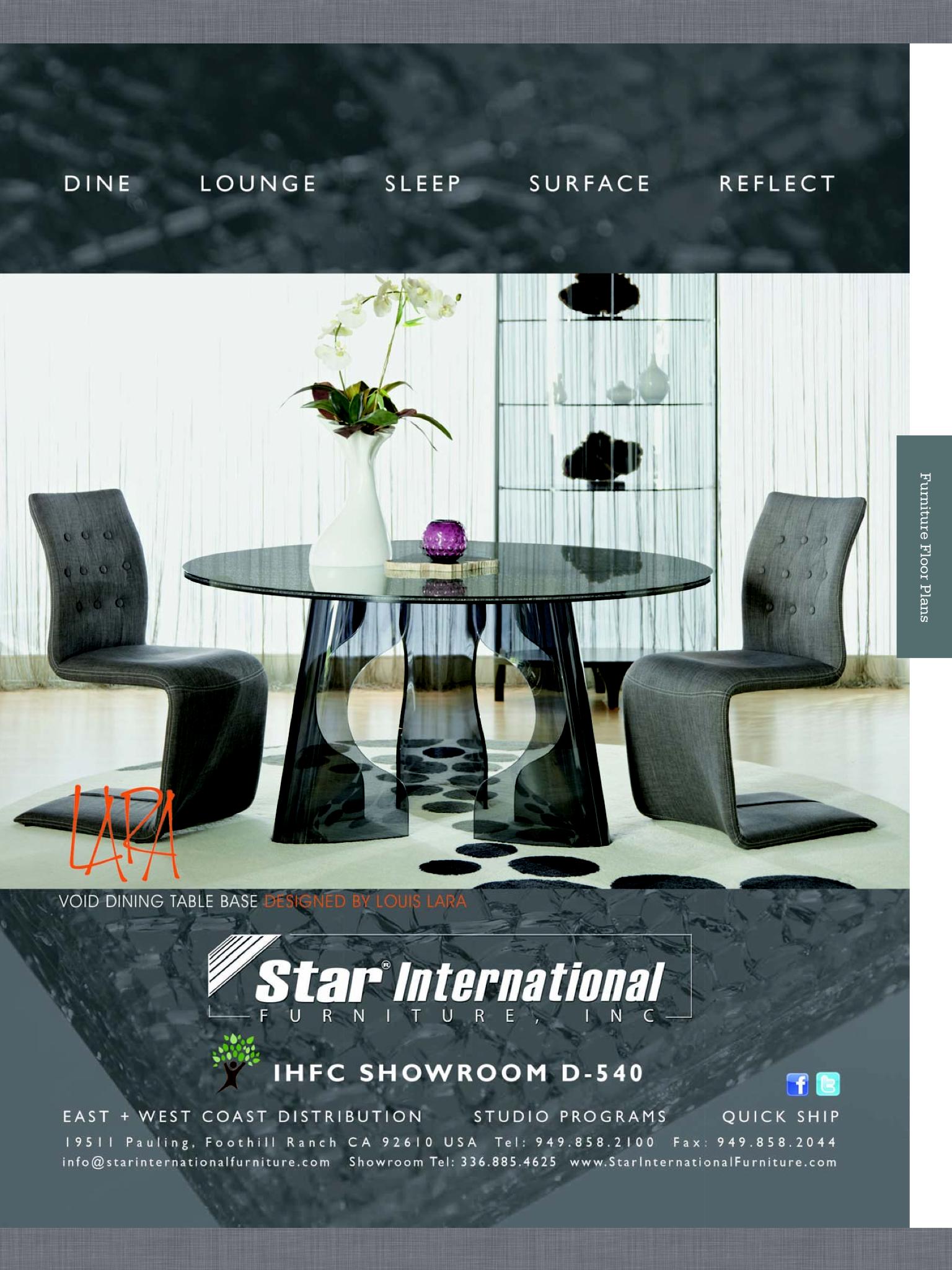 Star International VOID table AD