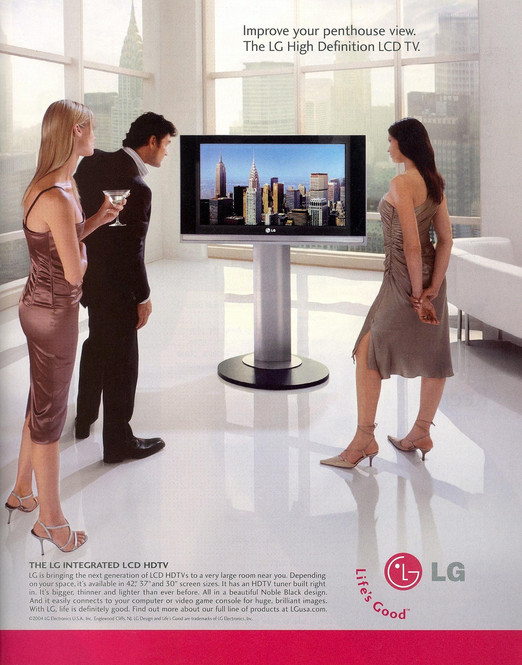 Vista - LG Ad