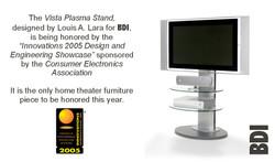 Vista 2005 Innovation's Award