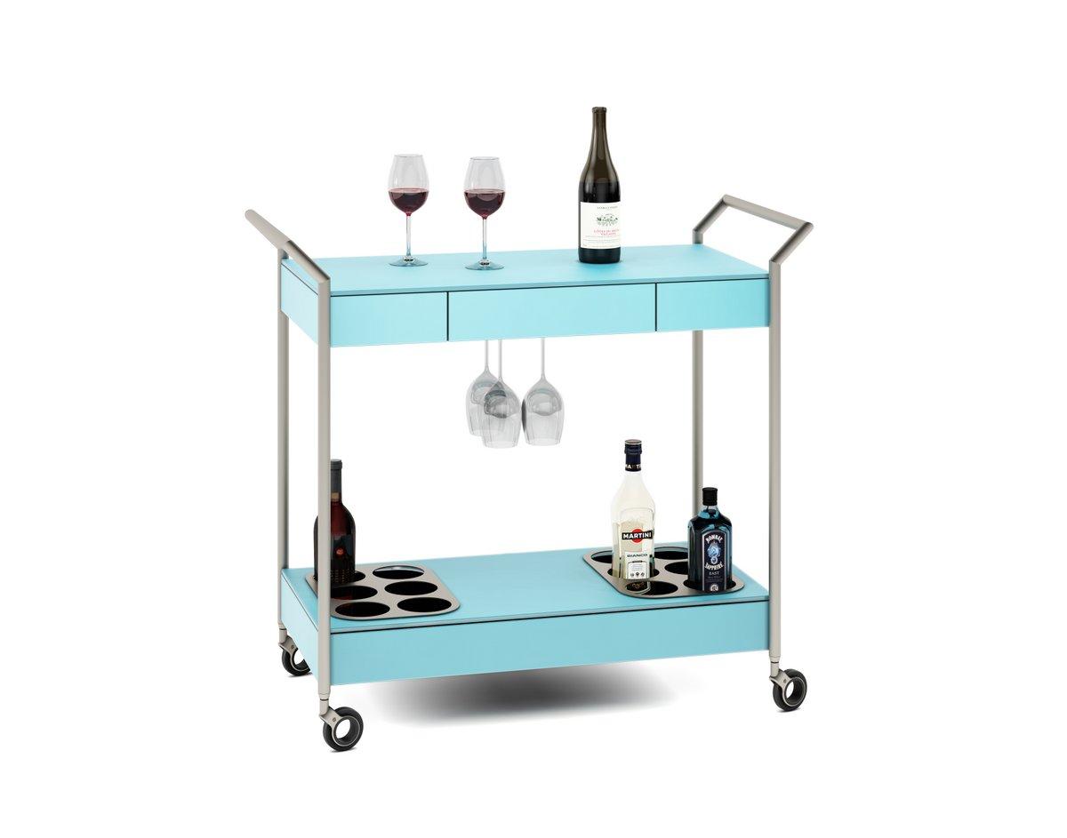 Verra Glass Bar Cart