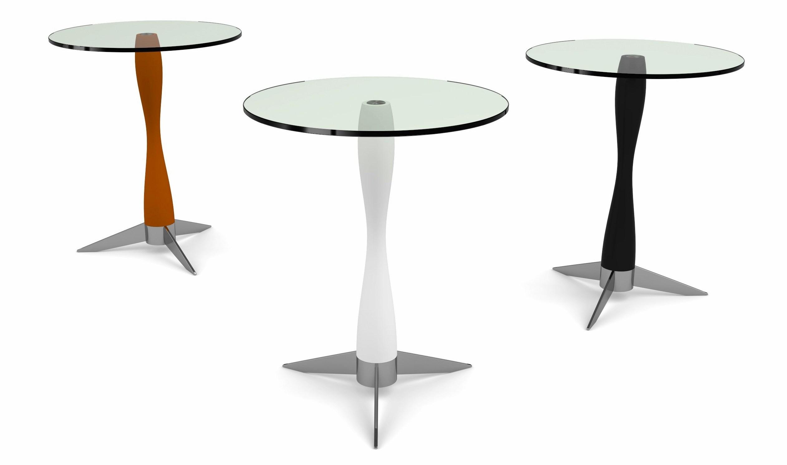 Onda Pedestal Table